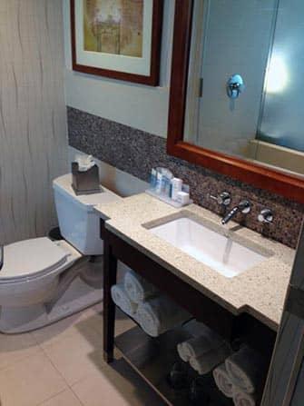 Wyndham Hotel à NYC - Salle de bains