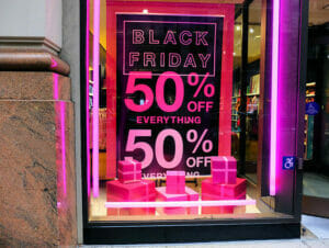 Black Friday a New York
