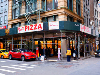 La meilleure pizza de New York - Joe's