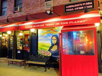 La meilleure pizza de New York - Lombardi's Pizza