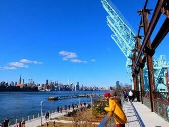 Parcs à New York - Balade en hauteur Domino Park