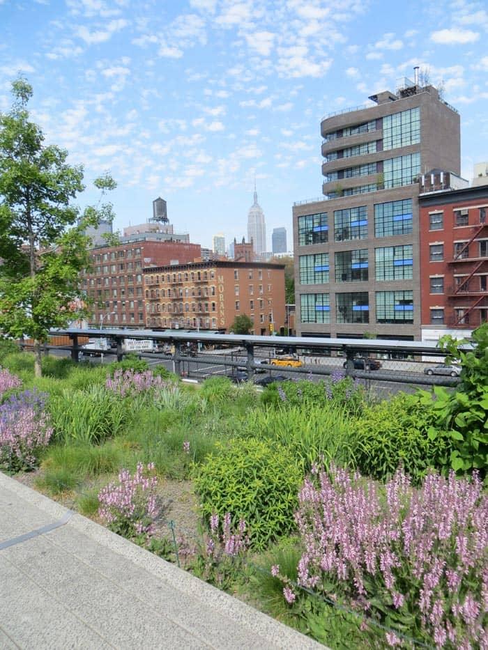 Parcs à New York - High Line Park