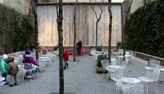 Parcs a New York Paley Park