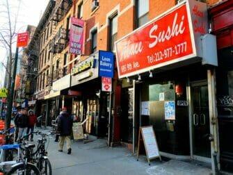 Sushi à New York Abace Sushi