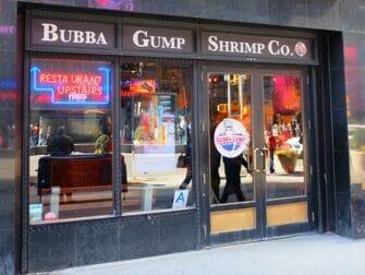 Restaurants a Theme a NYC - Bubba Gump