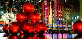 Ambiance de Noel a New York
