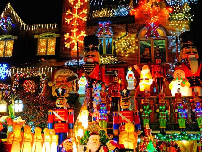 Ambiance de Noël à New York - Dyker Heights