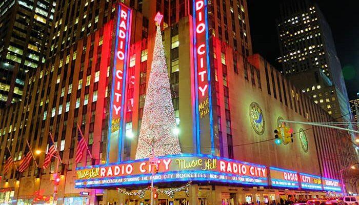 Ambiance de Noël à New York - Radio City Music Hall