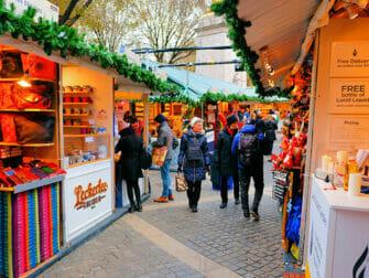 Les marchés de New York - Marché de Noël du Bryant Park