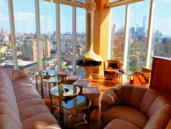 Les Rooftop Bars à New York - Vue du Top of the Standard