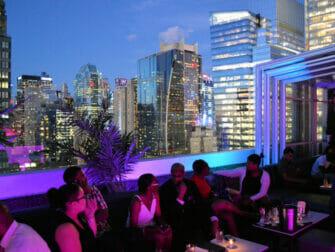 Rooftop Bars à New York - Skyroom Vues