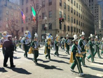 St. Patrick's Day Parade à New York