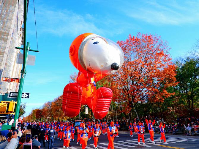 Thanksgiving a New York - Ballon Snoopy