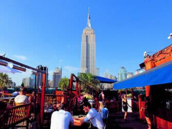 Les meilleurs Rooftop Bars de New York - 230 Fifth de jour