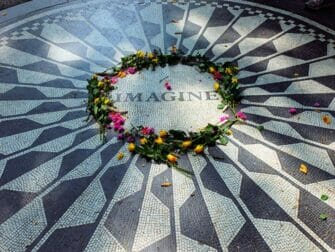 Strawberry Fields le matin Central Park