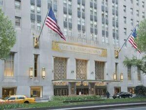 Le Waldorf-Astoria Hotel à New York