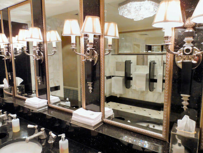 Toilettes Waldorf Astoria New York