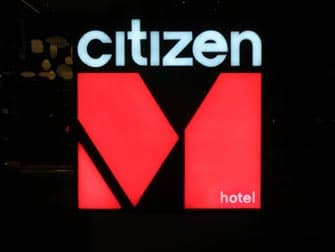citizenM times square hotel a New York