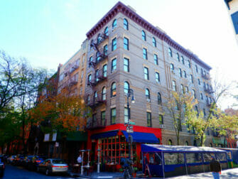 Grove and Bedford à Greenwich Village