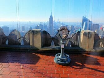 Le Jour de l'An à New York - Top of the Rock au coucher du soleil