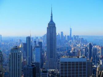 Le Jour de l'An à New York - Vue du Top of the Rock