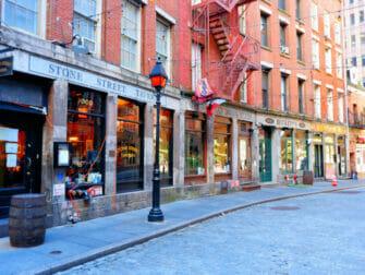 Stone Street Lower Manhattan