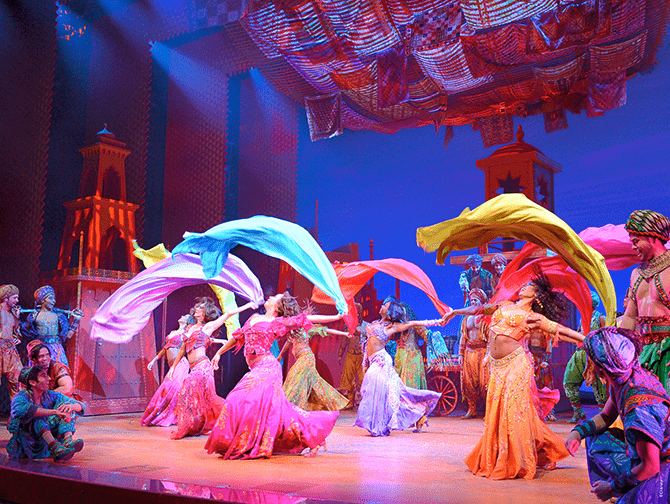 Billets pour Aladdin a Broadway - Danse