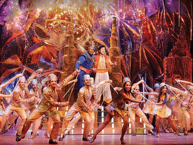 Billets pour Aladdin a Broadway - Genie et Aladdin