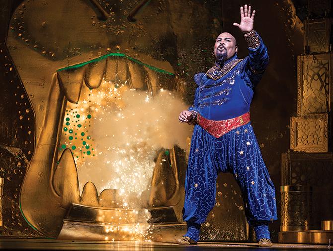Billets pour Aladdin a Broadway - Genie
