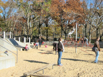 Terrain de Jeux The Central Park Playground New York