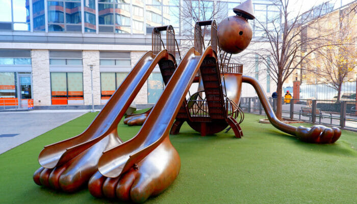 Terrain de Jeux Silver Towers Playground
