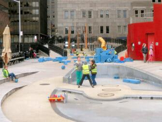 Terrain de Jeux South Street Seaport Playground New York City