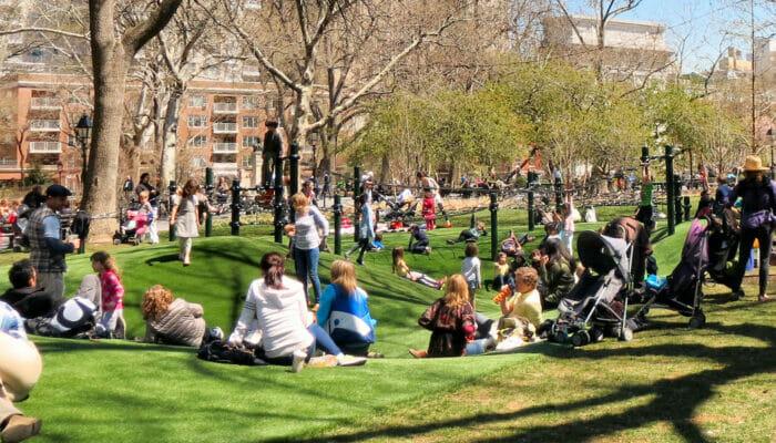 Terrains de Jeux Washington Square Park