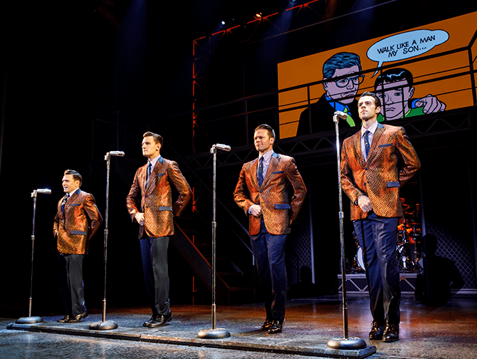 Billets pour Jersey Boys a New York - Performance