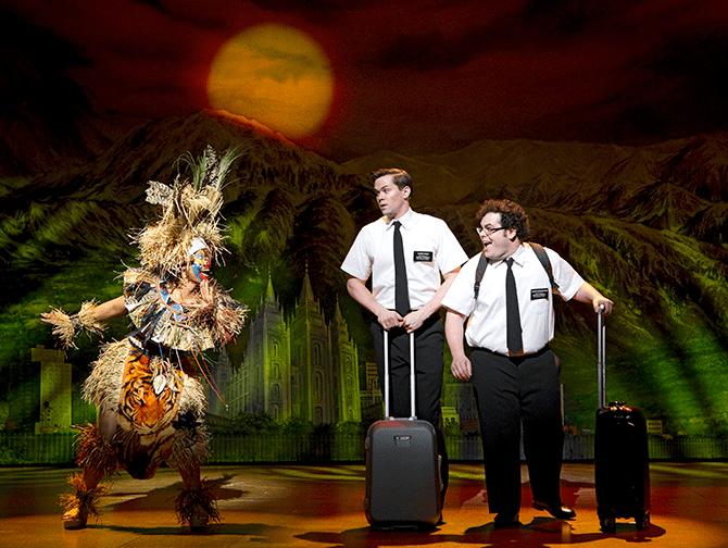 Billets pour The Book of Mormon a Broadway - Arnold et Kevin