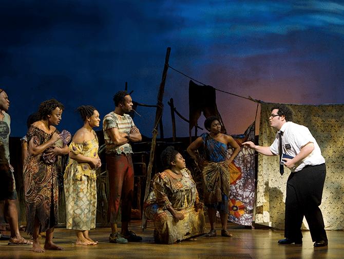 Billets pour The Book of Mormon a Broadway - En Ouganda
