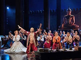 The King and I à Broadway - La Troupe