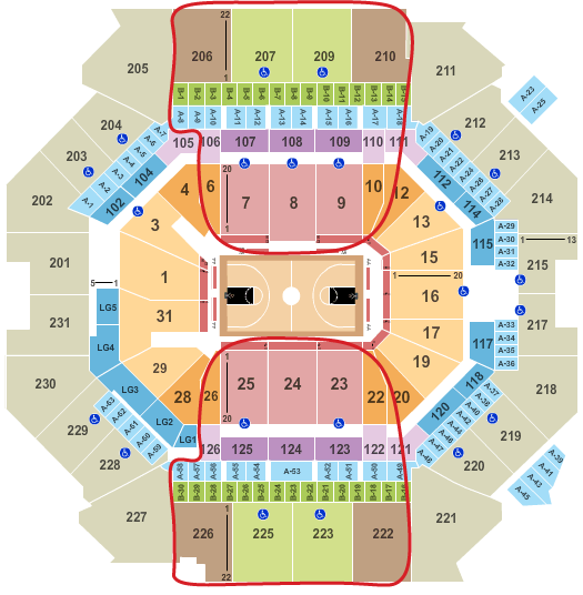 Brooklyn Nets Tickets - Barclays Center Seating Chart