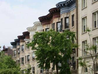 Visite Guidée de Brooklyn - Prospect Park immeubles