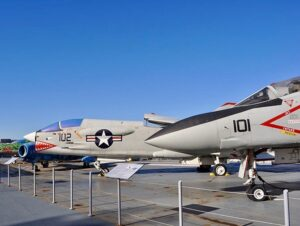 Intrepid Sea, Air and Space Museum in New York - Avions de chasse
