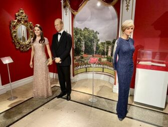 Madame Tussauds a New York - Famille Royale