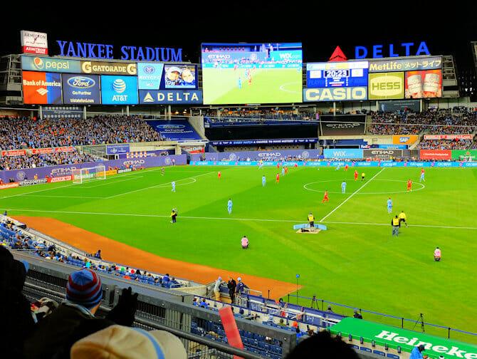 New York City FC - Yankees Stadium
