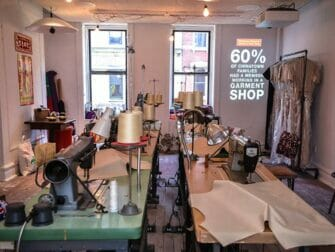 Tenement Museum Recreated Chinese garment factory