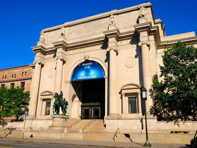 Musée d'Histoire Naturelle a New York