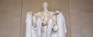 Washington lincoln memoria;