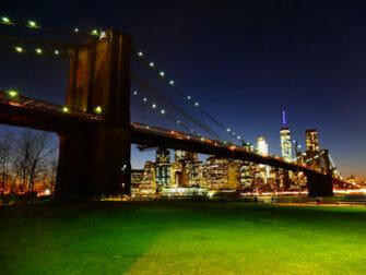 Brooklyn Bridge Park à New York - Brooklyn Bridge