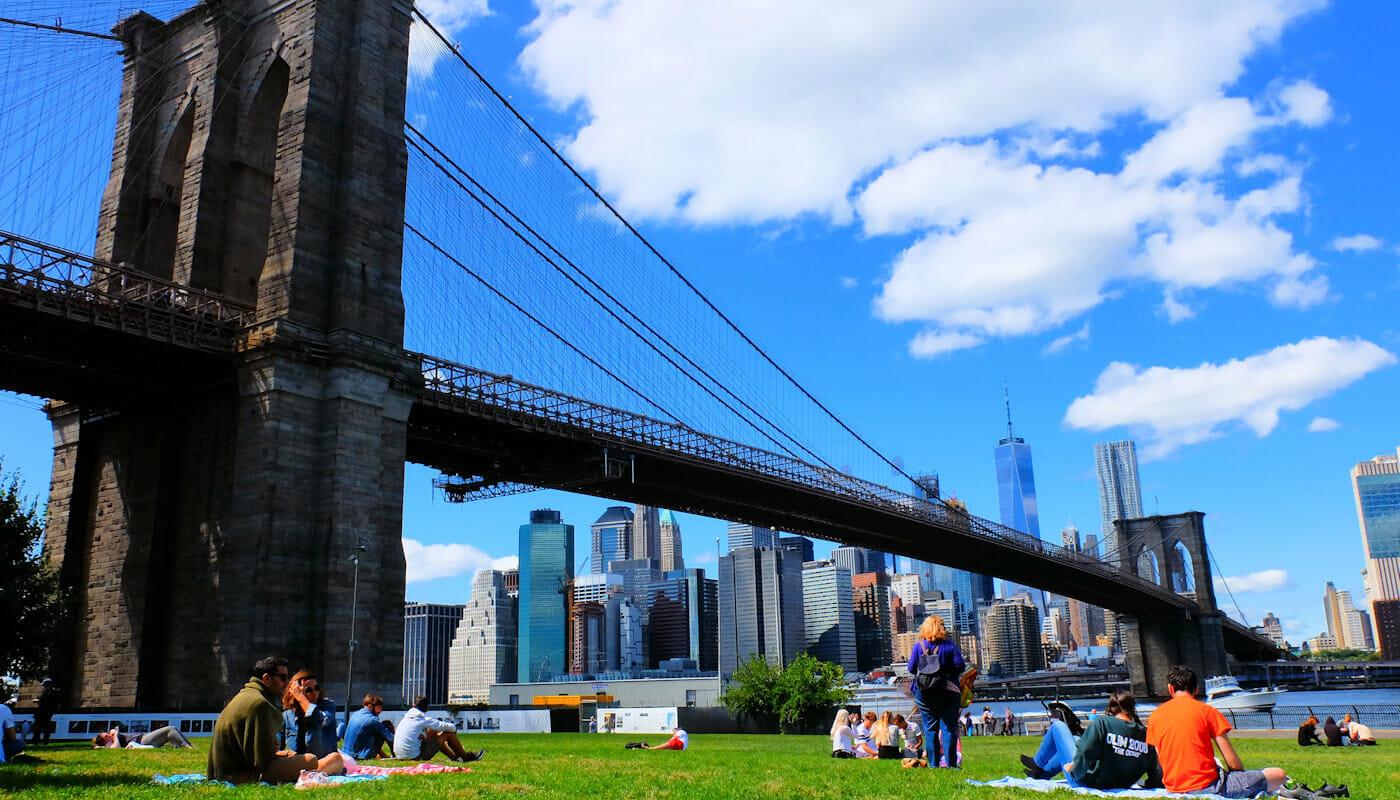 Brooklyn Bridge Park à New York - Détente