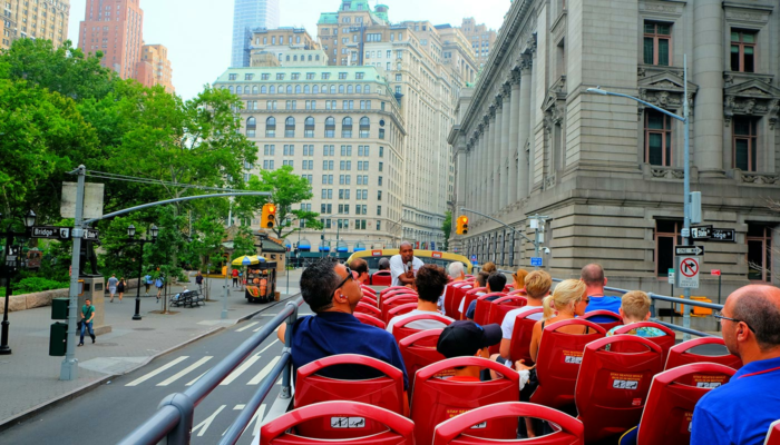 Bus touristique à New York - Visite