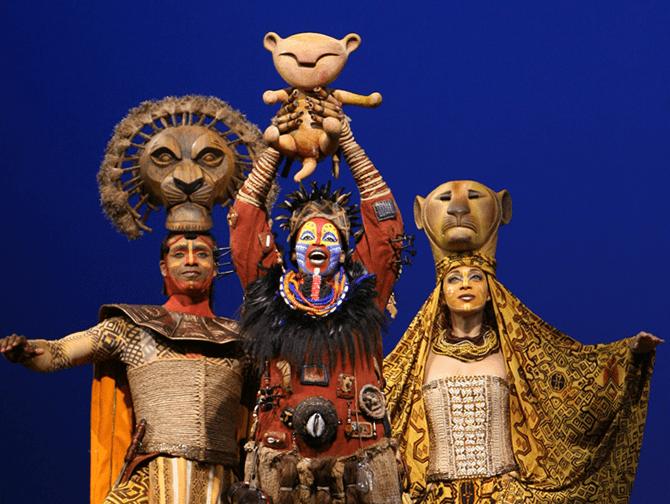 Billets pour Le Roi Lion a Broadway - Rafiki