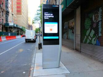 Wi-Fi a New York - WiFi gratuit dans les stations de metro